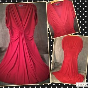 Jones Wear Red Dress Size 14